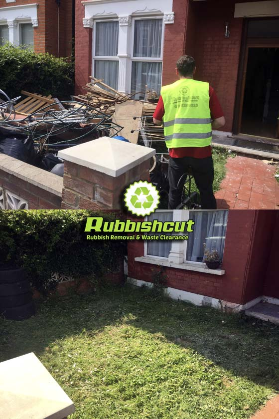 before after house clearance service london rubbishcut