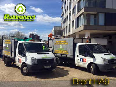 brent rubbish removal ha9 waste clearance vans