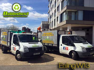 ealing rubbish removal w13 waste clearance van ealing w12