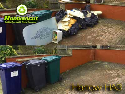 harrow rubbish removal ha2 ha3 house office garage waste clearance harrow