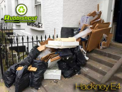 house garden construction garage waste clearance in hackney e4