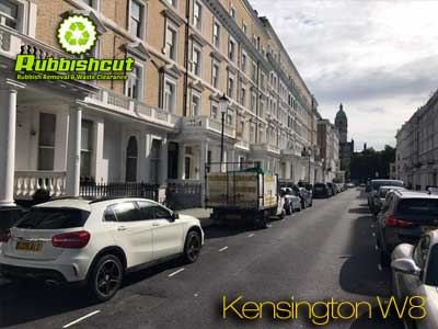 kensington rubbish removal same day waste clearance w8