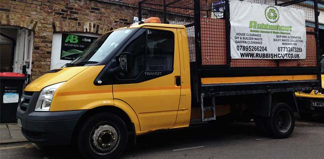 office clearance rubbish removal van london rubbishcut