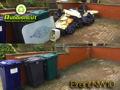 rubbish clearance brent nw10 house waste clearance
