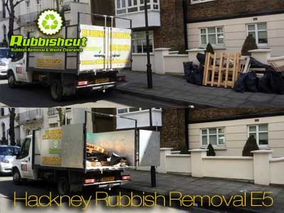 rubbish removal hackney cheap waste clearance in hackney e5