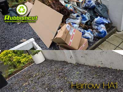 rubbish removal harrow ha1 waste clearance house office garage
