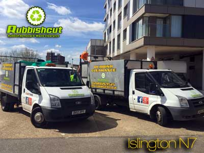 rubbish removal islington n7 same day waste clearance
