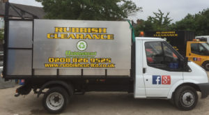 rubbish removal vans in harrow