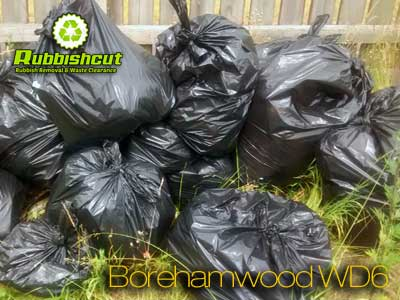 borehamwood rubbish removal wd6 waste bags clearance