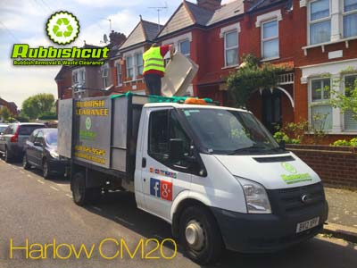 cheap harlow rubbish removal waste clearance in cm20 by rubbishcut