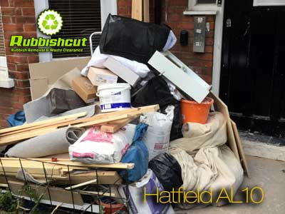 cheap rubbish removal hatfield al10 waste clearance