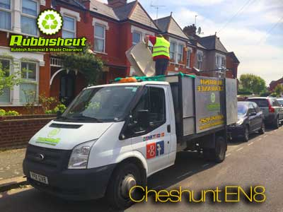 cheshunt rubbish removal in en8 same day waste clearance