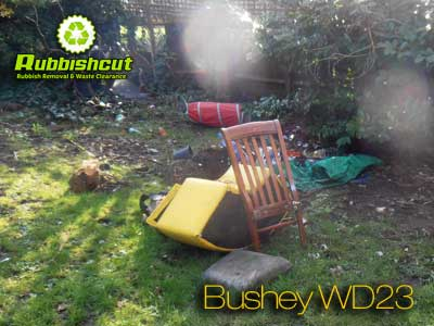 garden clearance bushey house garage waste removal