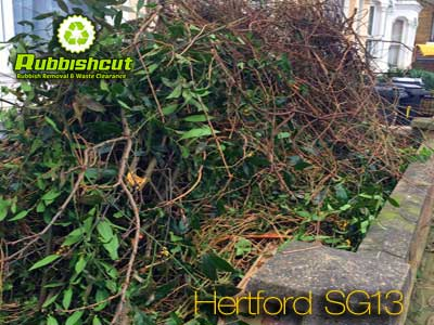 garden waste clearance hertford sg13