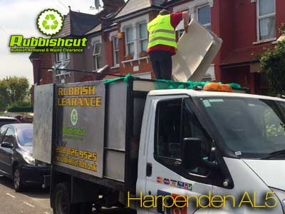 harpenden mattress disposal cheap fridge office garden house waste clearance al5