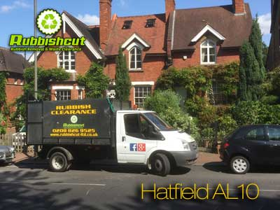 hatfield rubbish removal licensed waste clearance in hatfield herts