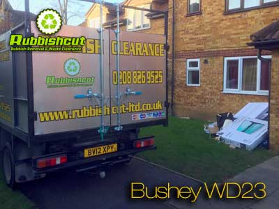 rubbish removal bushey wd23 cheap waste clearance