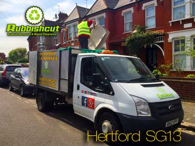 rubbish removal hertford sg13 sg14 cheap mattress and fridge disposal