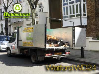 waste clearance vans in watford london
