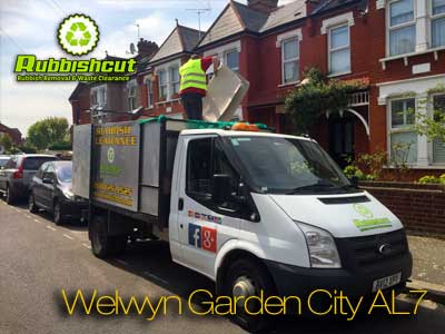 welwyn garden city rubbish removal al7 waste clearance